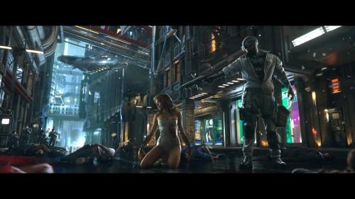 Cyberpunk-2077-Android-vs-SWAT-Wallpaper.jpg